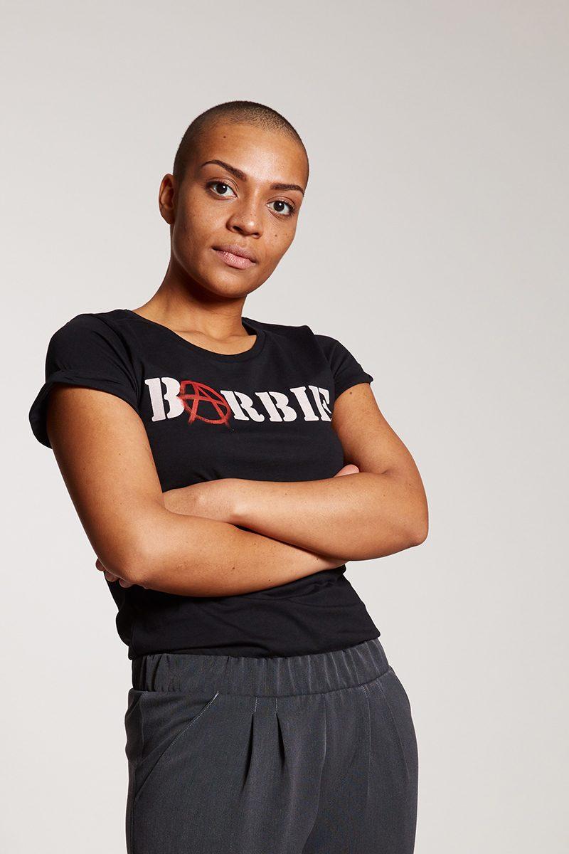 BARBIE - Damenshirt von Elternhaus, fair fashion made in Hamburg