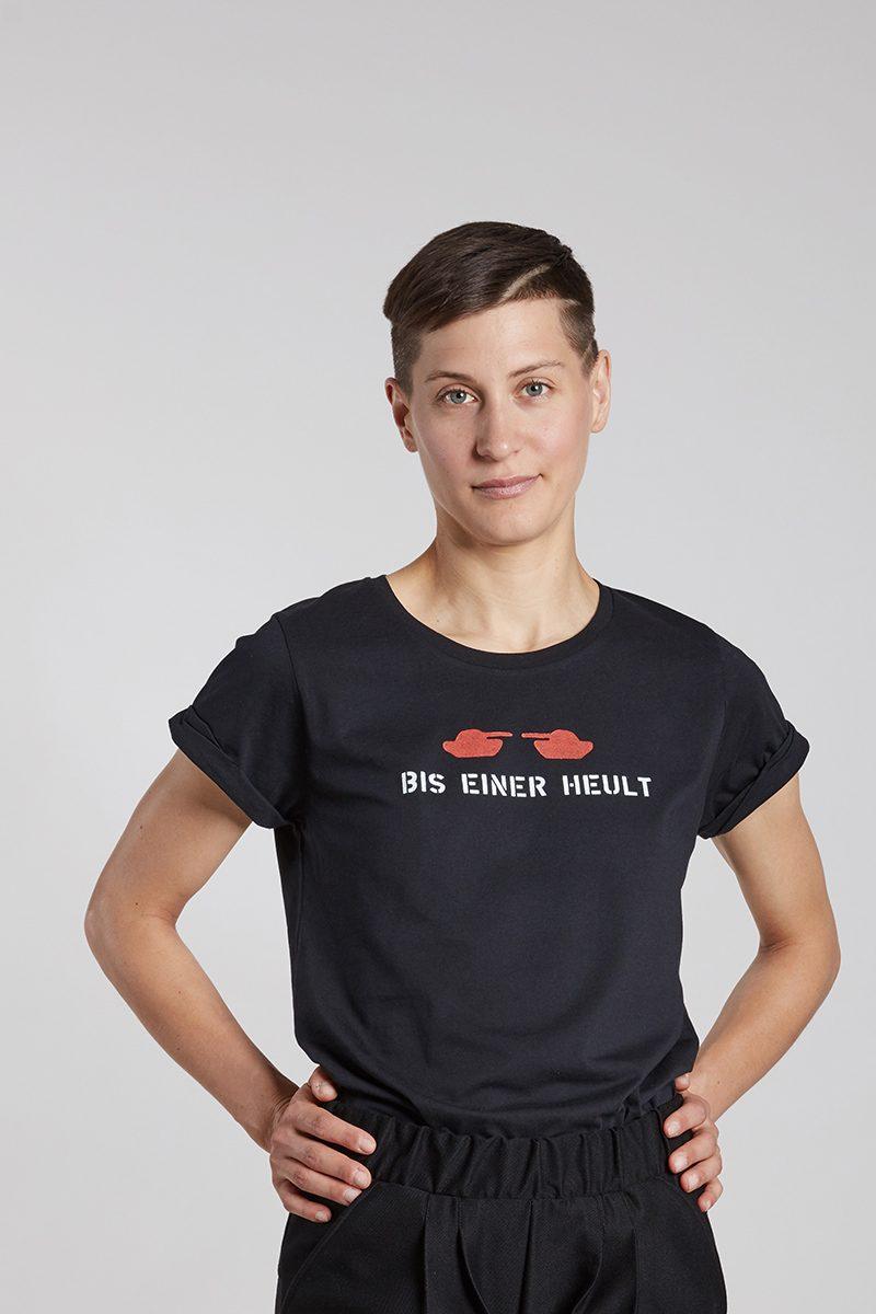 BIS EINER HEULT - Damenshirt von Elternhaus