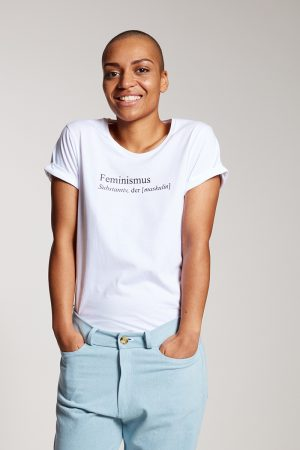 FEMINISMUS - Damenshirt von Elternhaus, fair fashion made in Hamburg