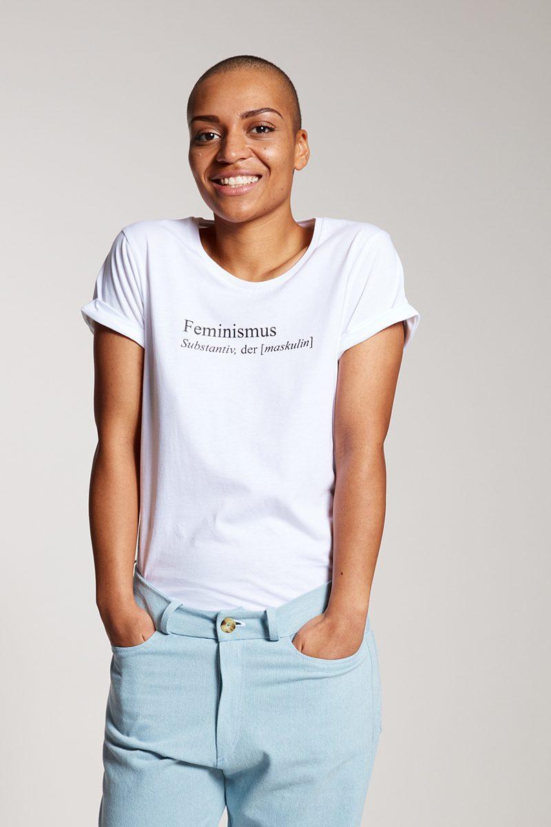 FEMINISMUS - Damenshirt von Elternhaus, fair fashion made in Hamburg