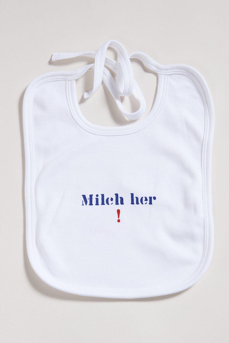 Milch her! - Lätzchen Elternhaus