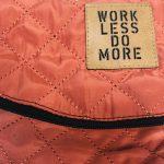 work less do more - Hipbag von Elternhaus