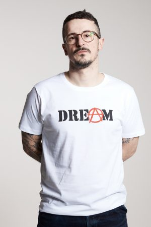 DREAM Herrenshirt von Elternhaus, fair fashion made in Hamburg
